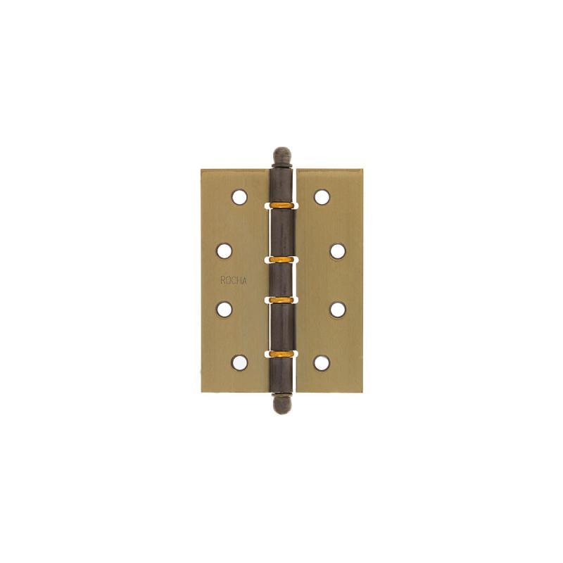 Dobradiça para porta de madeira